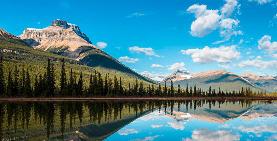 Canadá espectacular de ensueño. Novios