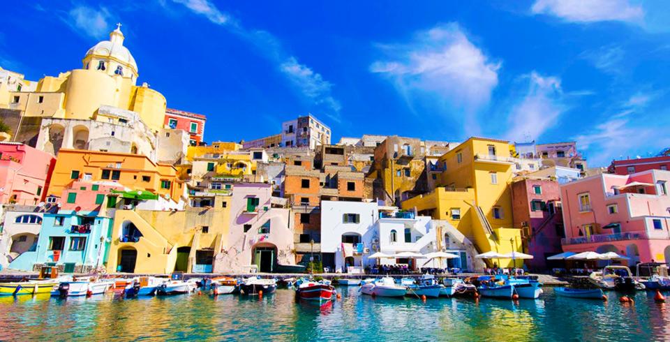Delicias De Italia Con Napoles y Pompeya