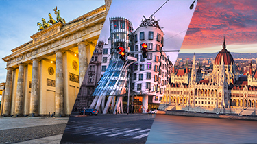 Berlín-Praga-Budapest****