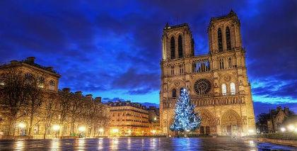 Bellezas de París  y la costa de Normandía