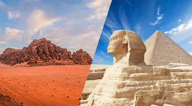 Egipto y Jordania *