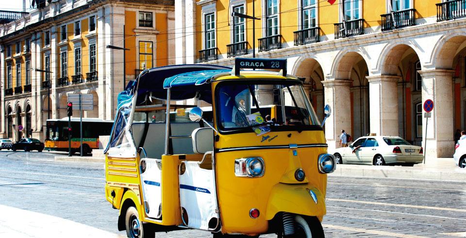 Escapada en tuk tuk por Lisboa