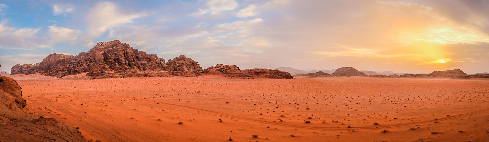 Maravillas del Hachemita y Wadi Rum