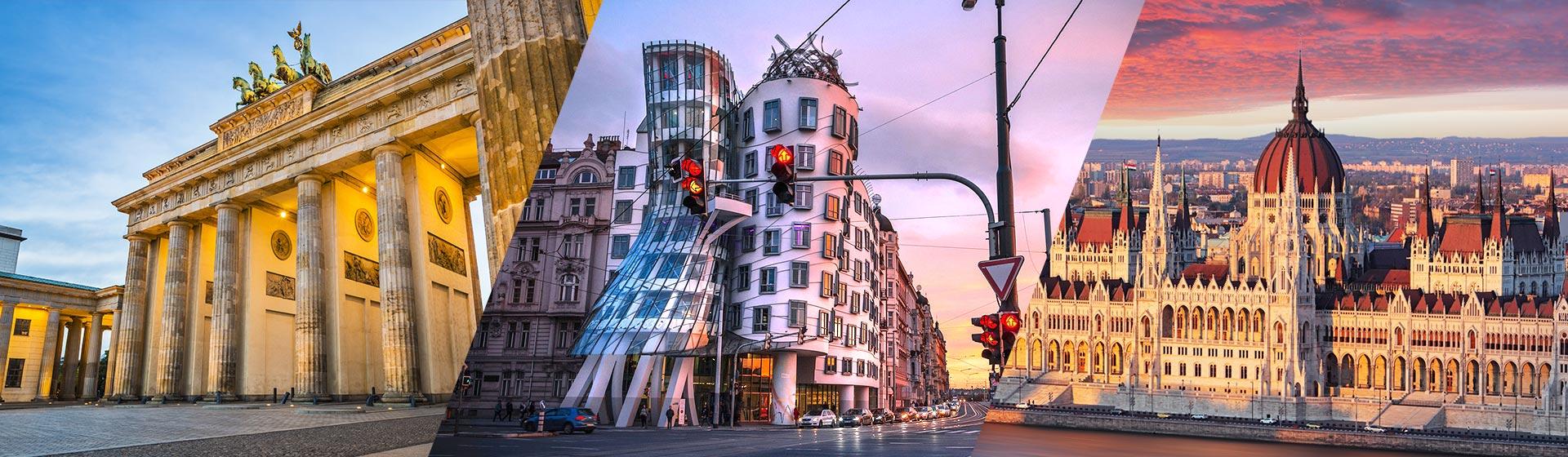 Berlín - Praga - Budapest