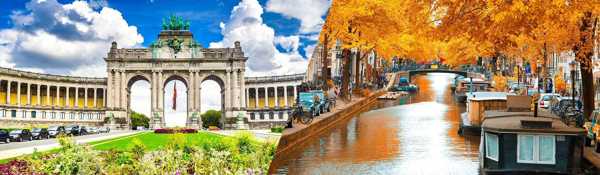 Bruselas-Amsterdam (7 días / 6 noches)