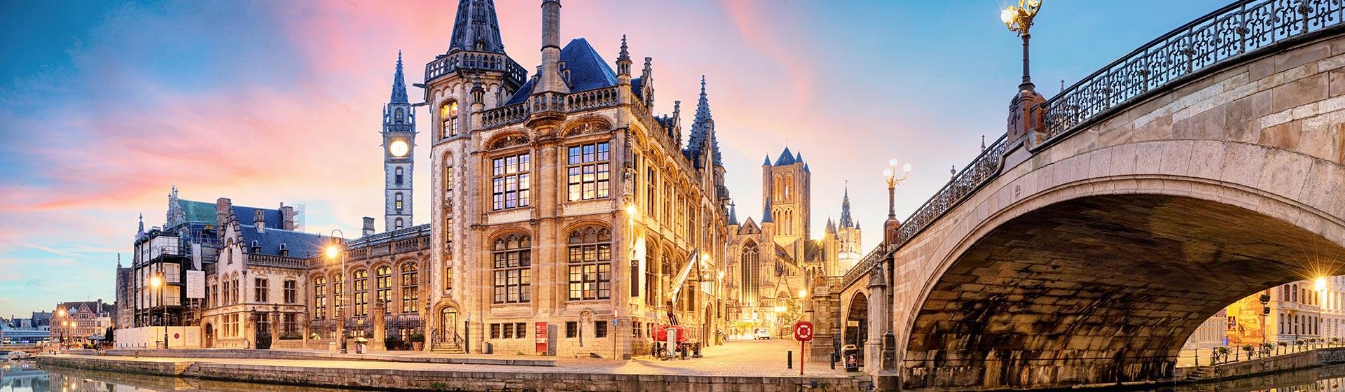 Bruselas-Brujas-Gante (7 días / 6 noches)